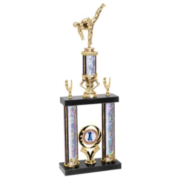 2 Post Martial Arts Trophy