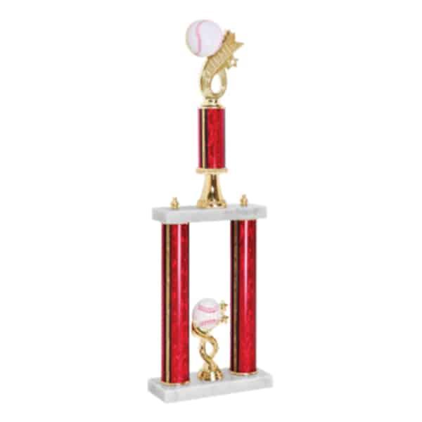 Baseball Headline 2 Post Trophy
