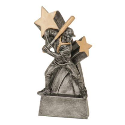 Baseball Super Star Resin Award
