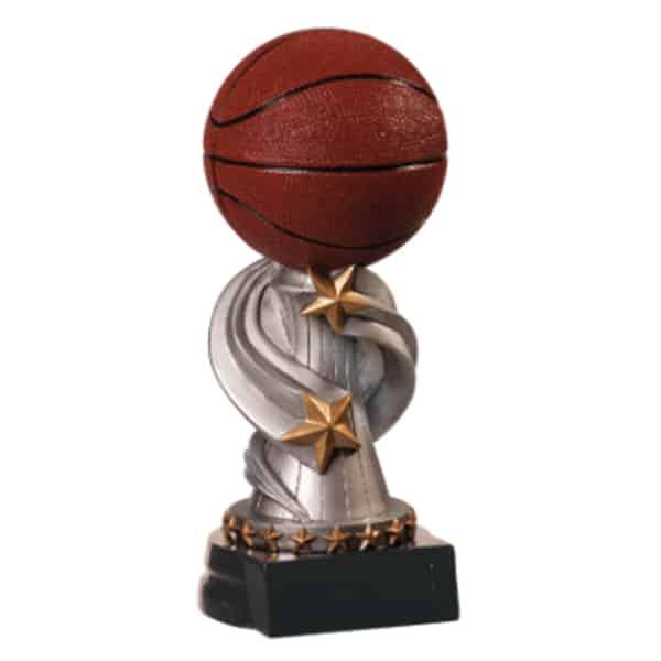 Basketball Encore Resin Award