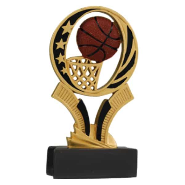 Basketball Midnite Star Resin Award