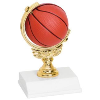Basketball Spinner Trophy