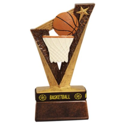 Basketball Trophybands Resin Award