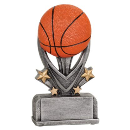 Basketball Varsity Sport Resin Award