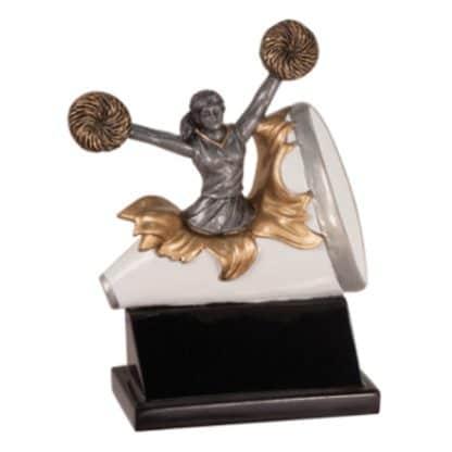 Cheerleading Exploding Resin Award