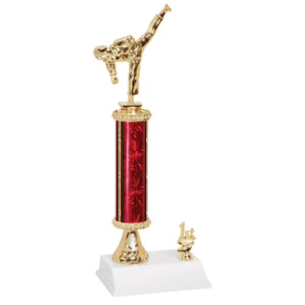 Female Martial Arts Trophy