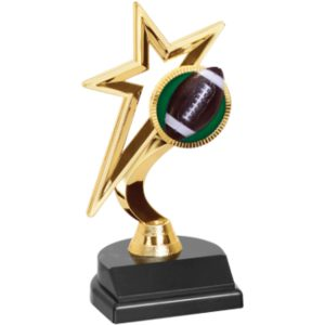 Gold Star Football Trophy