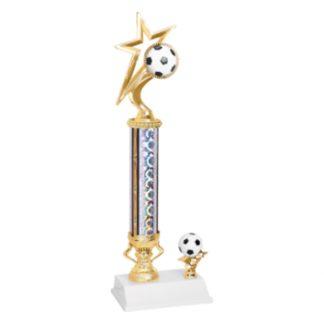 Gold Star Soccer Trophy