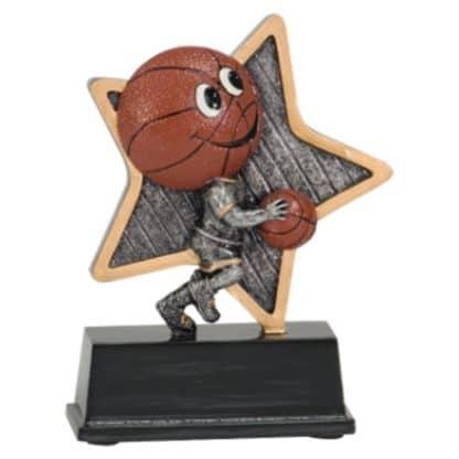 Little Pal Basketball Resin Award