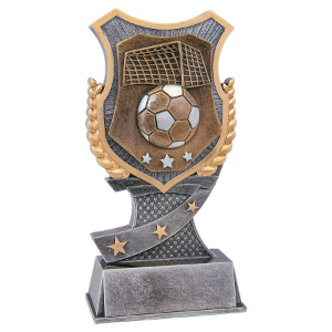 Large Soccer Shield Award