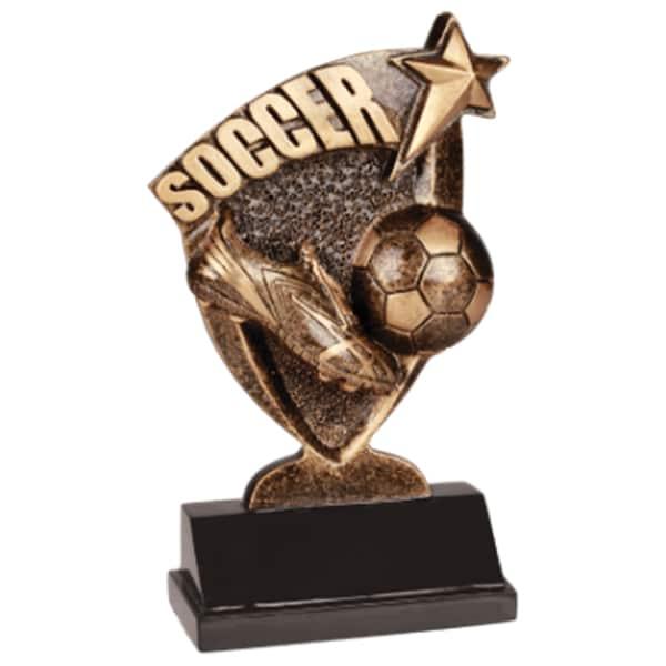 Soccer Broadcast Resin Award