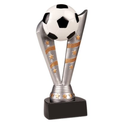 Soccer Fanfare Resin Award