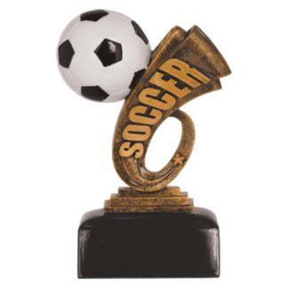 Soccer Headline Resin Award