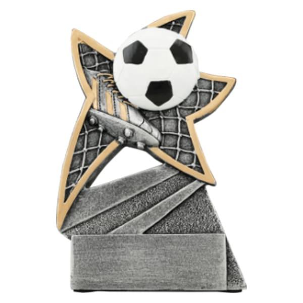 Soccer Jazz Star Resin Award