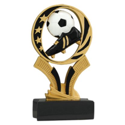 Soccer Midnite Star Resin Award