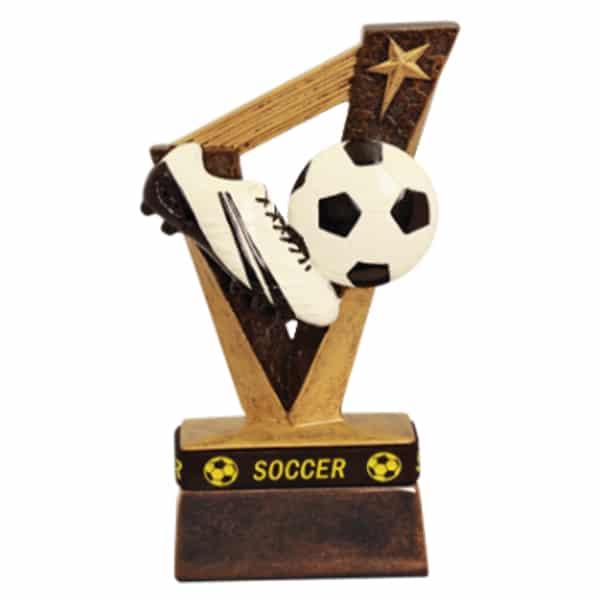 Soccer Trophybands Resin Award
