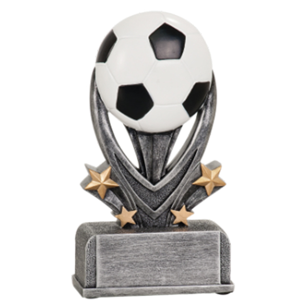 Soccer Varsity Resin Award