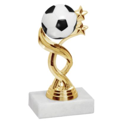 Twisted Sport Soccer Trophy