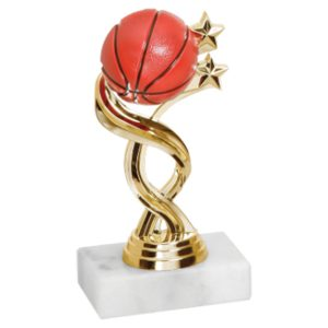 Twisted Star Basketball Trophy